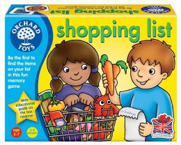 *Brand New* Orchard Toys Shopping List Educational Kids Role Play Board Game Toy